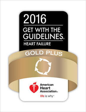 American Heart Association Heart Failure Gold Plus Award