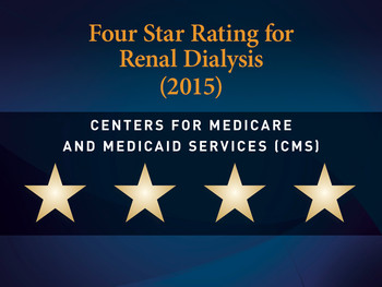 Four Star Rating for Renal Dialysis (2015)