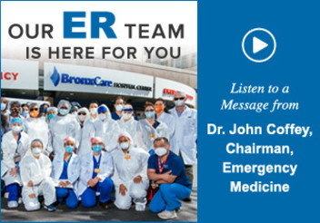 Our ER team is here for you.
