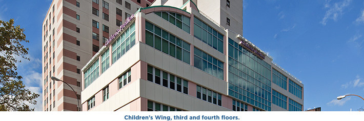 Children's Wing, third and fourth floors.